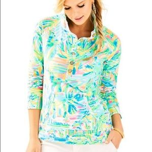 🆕 Lilly Pulitzer Captain Printed Popover